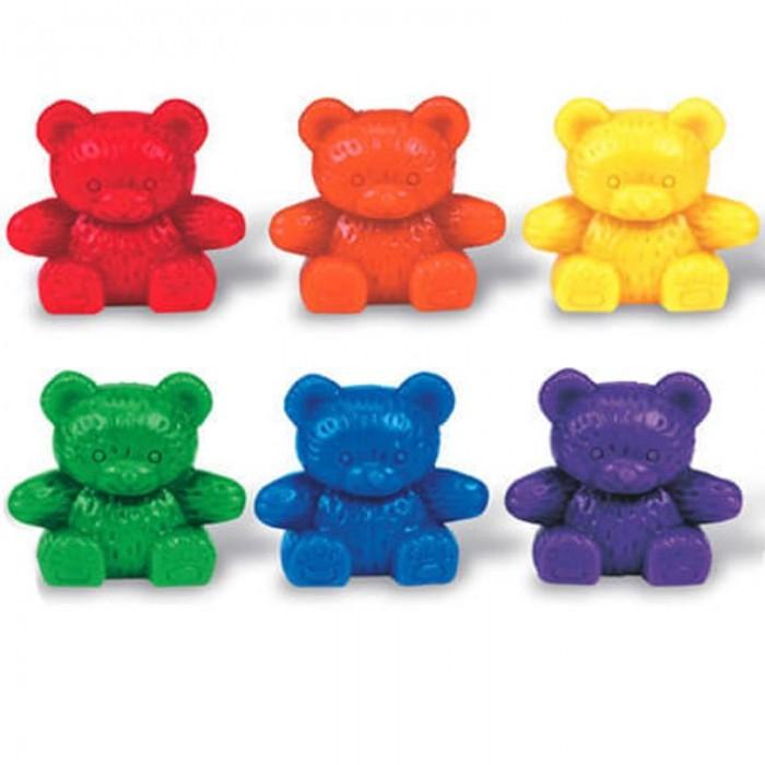 Игровые фигурки Learning Resources Игровой набор фигурок Семейка медведей 48 шт.