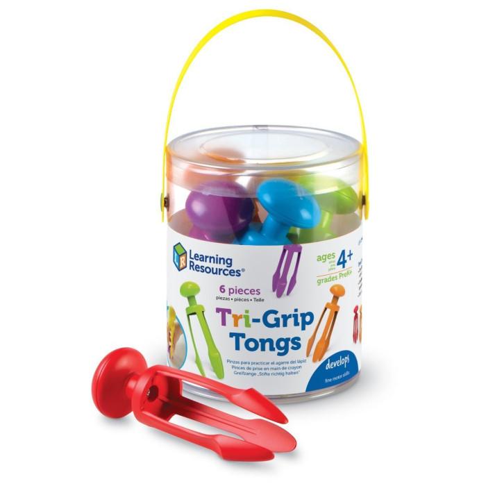 Купить Развивающие игрушки, Развивающая игрушка Learning Resources Набор пинцетов Краб для подготовки руки к письму