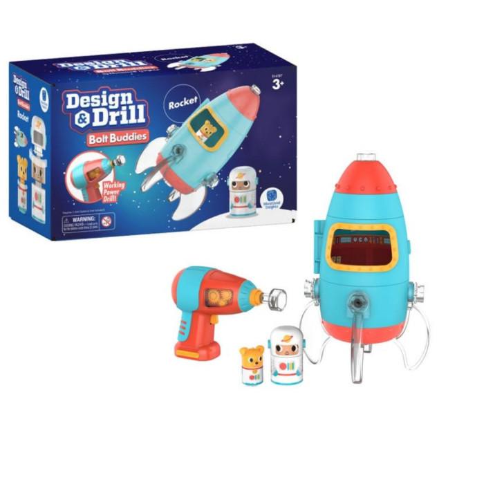 Купить Ролевые игры, Learning Resources Развивающая игрушка Закручивай и учись Ракета