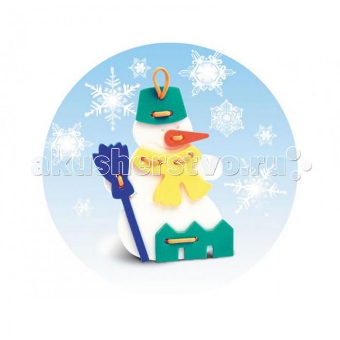 Развивающие игрушки Флексика Шнуровка Снеговичок развивающие игрушки флексика шнуровка букетик