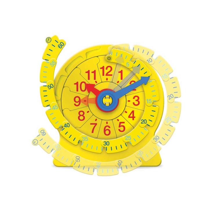 Картинка для Learning Resources Учимся определять время Часовой пазл большой