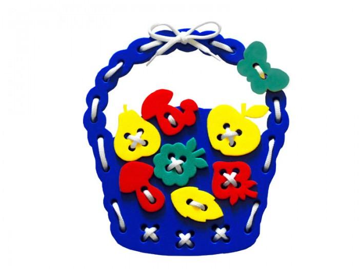 Развивающие игрушки Флексика Шнуровка Корзиночка