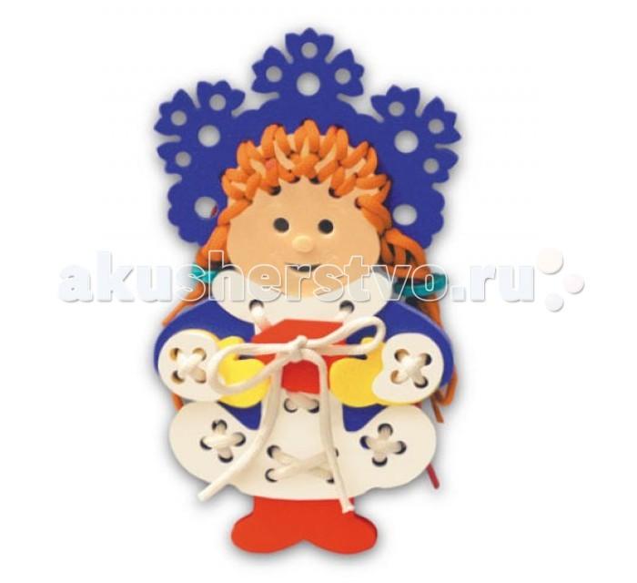 Фото Развивающие игрушки Флексика Шнуровка Снегурочка