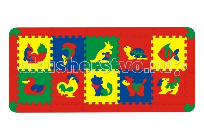Игровой коврик Флексика 12 деталей