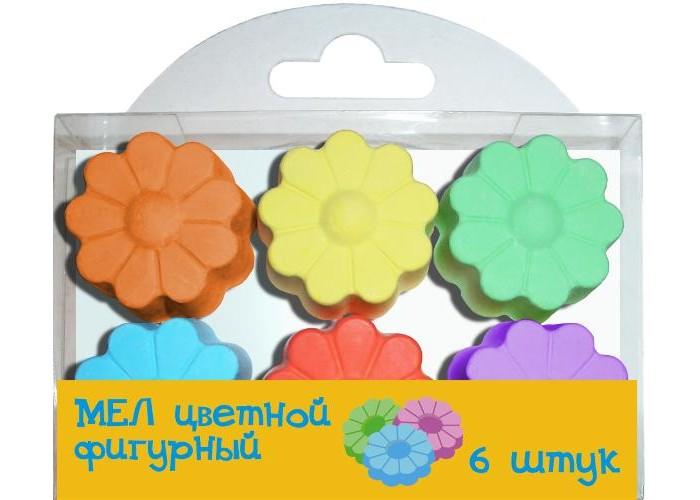 Мелки Мелан цветные фигурные Цветочки пайетки фигурные голографические colibry 14х25мм sf02 64 l14