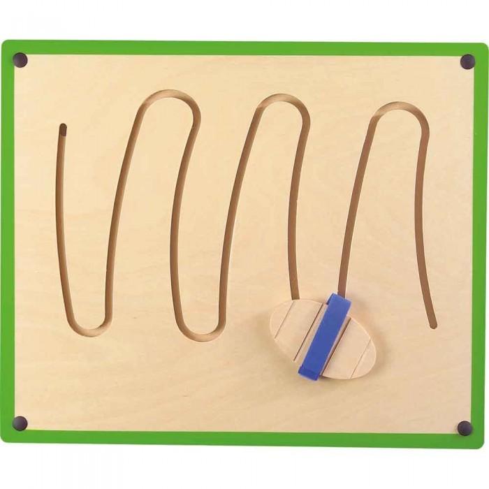 Деревянная игрушка Beleduc Настенный игровой элемент ГорыНастенный игровой элемент ГорыBeleduc Настенный игровой элемент Горы для детей старше 3-х лет развивает детскую мускулатуру, моторику и совершенствует координацию движений ребенка.<br>