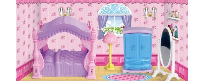 Кукольные домики и мебель Игротрейд Мебель для кукол Спальня кукольные домики и мебель hape мебель для столовой