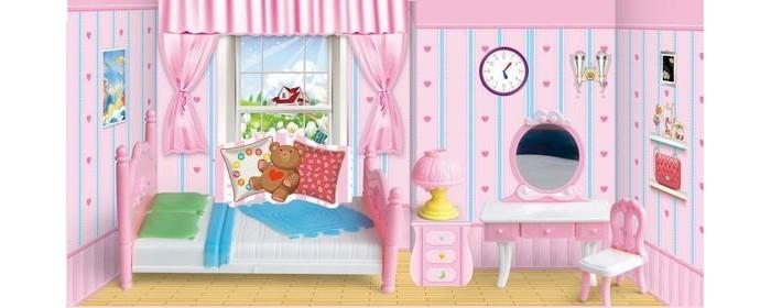 Кукольные домики и мебель Игротрейд Мебель для кукол Спальня Y23895046 кукольные домики и мебель hape мебель для столовой
