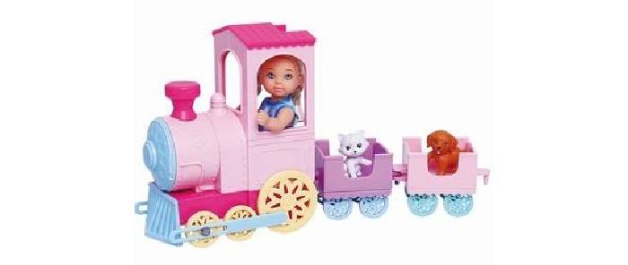 Купить Куклы и одежда для кукол, Игротрейд Кукла с поездом