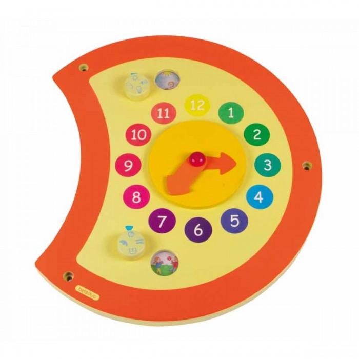 Деревянная игрушка Beleduc Настенный игровой элемент Гусеница ЧасыНастенный игровой элемент Гусеница ЧасыBeleduc Настенный игровой элемент Гусеница Часы для детей старше 3-х лет.   Благодаря этому настенному элементу ребенок в игровой форме сможет узнать о времени. На маленьких колесиках изображены различные времена года и четыре вида времени суток.<br>