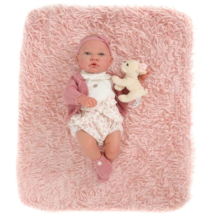 Куклы и одежда для кукол Munecas Antonio Juan Кукла Реборн младенец Фелисидад в розовом 40 см
