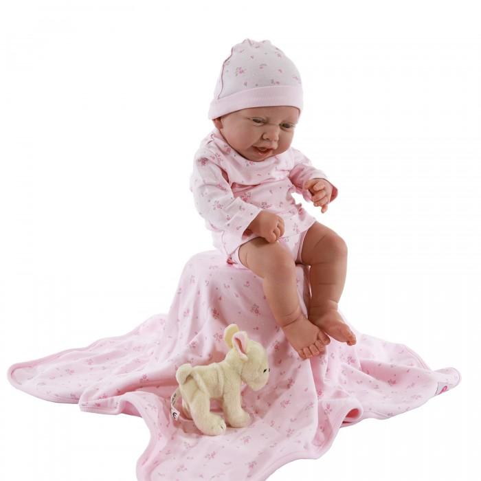 Куклы и одежда для кукол Munecas Antonio Juan Кукла Реборн младенец Фуенсанта в розовом 40 см