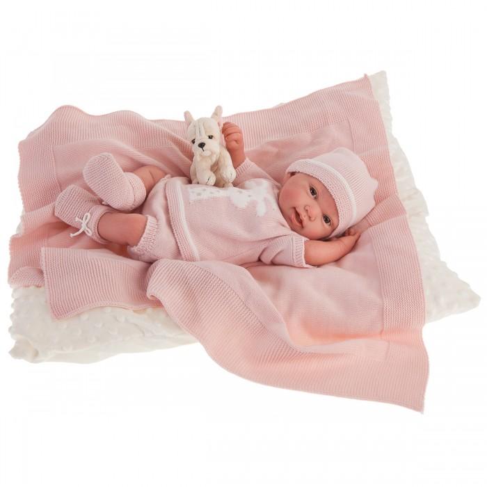 Фото - Куклы и одежда для кукол Munecas Antonio Juan Кукла Реборн младенец Татьяна в розовом 40 см куклы и одежда для кукол munecas antonio juan кукла реборн моника в розовом 52 см