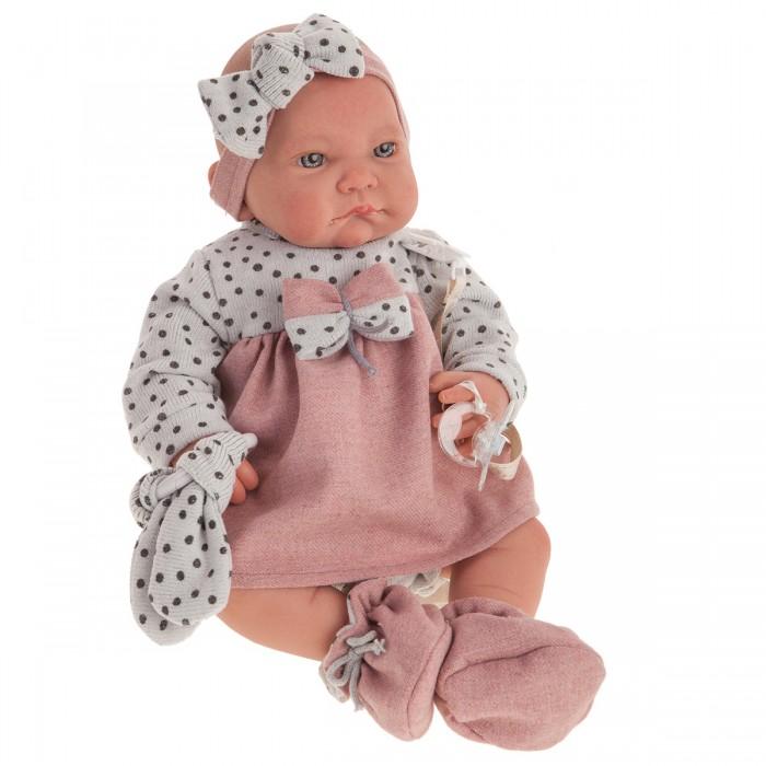 Фото - Куклы и одежда для кукол Munecas Antonio Juan Кукла Реборн Грегория в розовом 40 см куклы и одежда для кукол munecas antonio juan кукла реборн моника в розовом 52 см