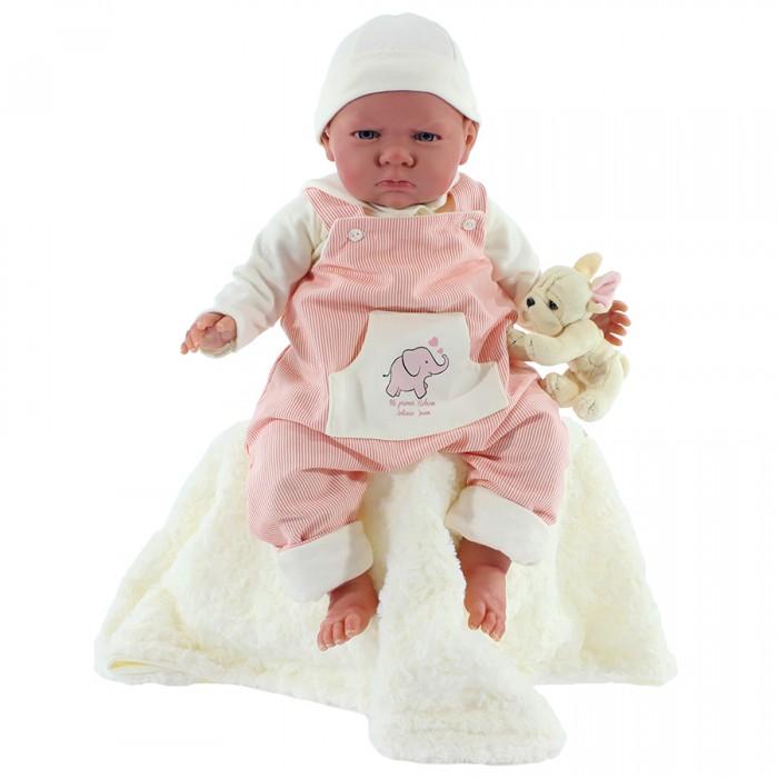 Munecas Antonio Juan  Кукла Реборн младенец Рокки 52 см