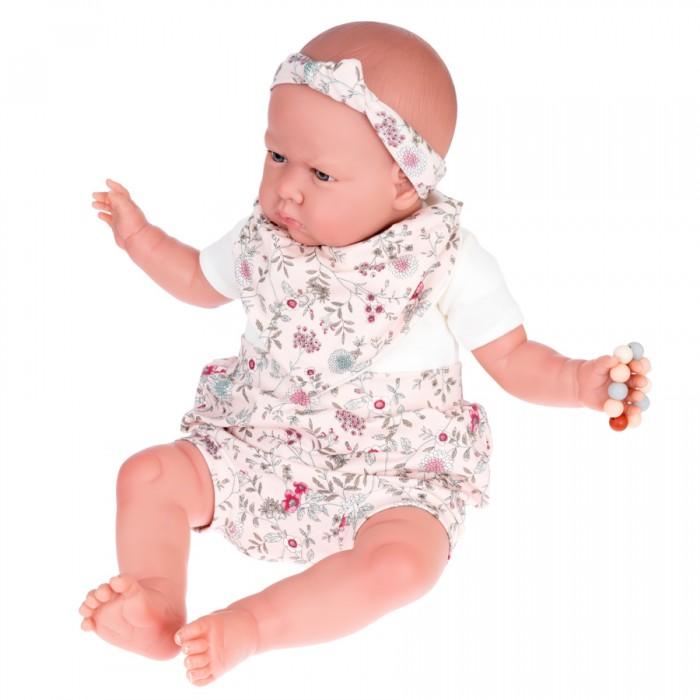 Фото - Куклы и одежда для кукол Munecas Antonio Juan Кукла Реборн Каталина в розовом 52 см куклы и одежда для кукол munecas antonio juan кукла эстефания в розовом 45 см