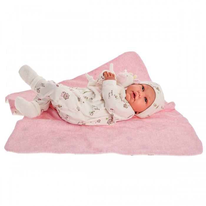 Куклы и одежда для кукол Munecas Antonio Juan Кукла Реборн Лидия в розовом 52 см