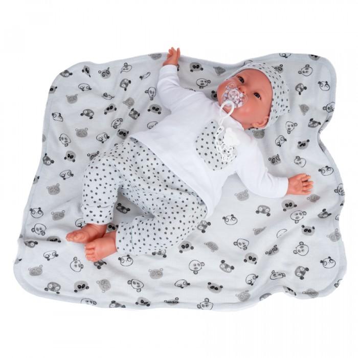 Куклы и одежда для кукол Munecas Antonio Juan Кукла Реборн Джулио в сером 52 см
