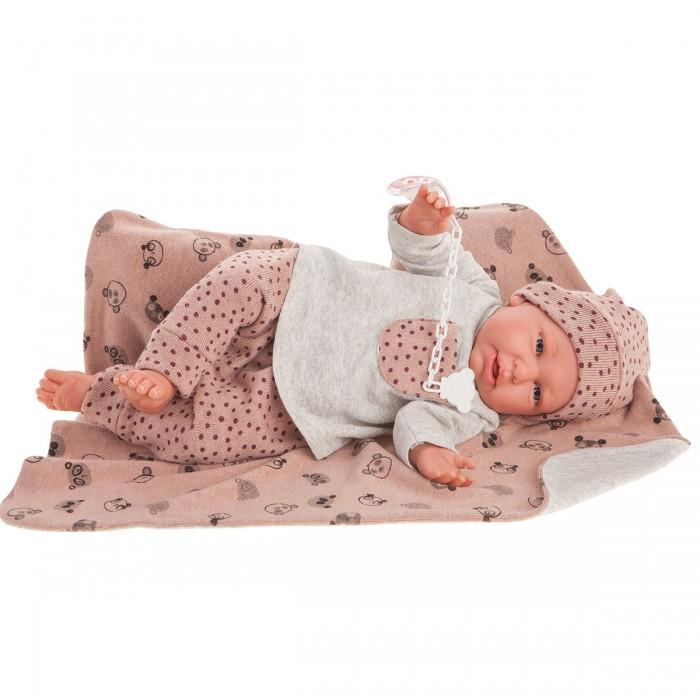 Купить Куклы и одежда для кукол, Munecas Antonio Juan Кукла Реборн Моника в розовом 52 см