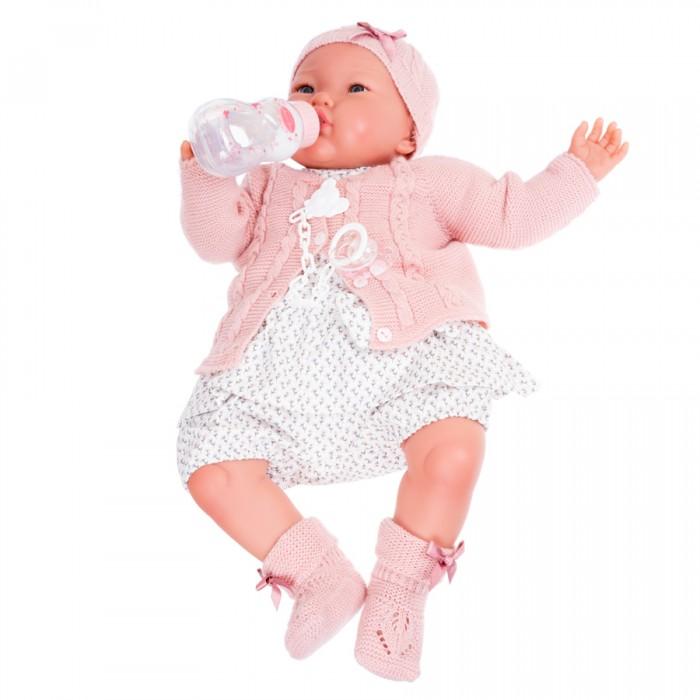 Фото - Куклы и одежда для кукол Munecas Antonio Juan Кукла Реборн Эмилия в розовом 52 см куклы и одежда для кукол munecas antonio juan кукла реборн моника в розовом 52 см