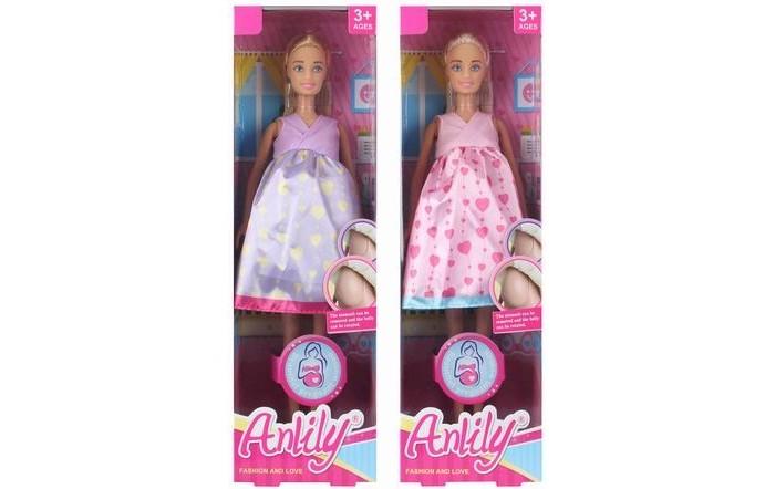 Фото - Куклы и одежда для кукол Игротрейд Кукла беременная Y15361163 куклы и одежда для кукол игротрейд пупсик спящий