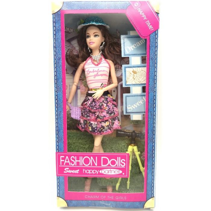 Фото - Куклы и одежда для кукол Игротрейд Кукла с аксессуарами Y23729353 куклы и одежда для кукол игротрейд пупсик спящий