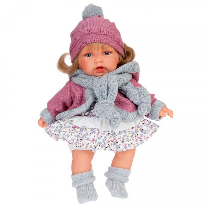 Купить Куклы и одежда для кукол, Munecas Antonio Juan Кукла Солидад в розовом озвученная 27 см