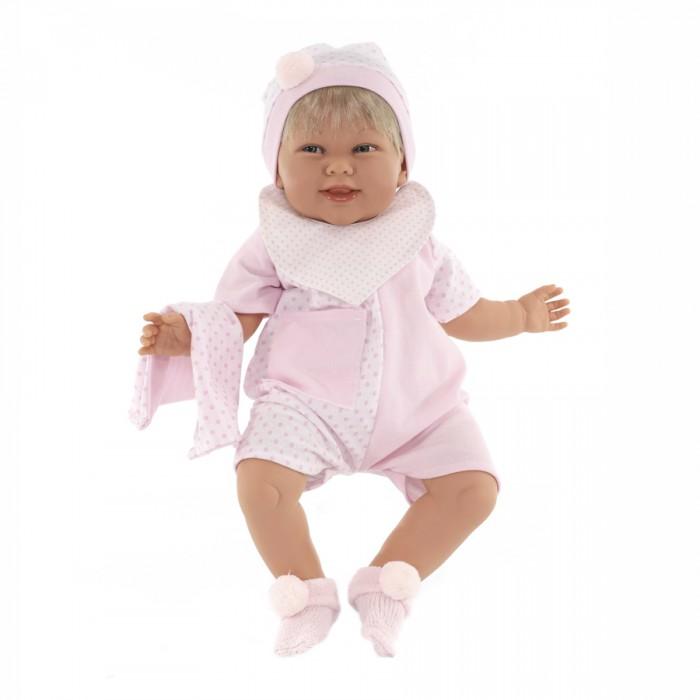 Купить Куклы и одежда для кукол, Munecas Antonio Juan Кукла Мартина в розовом озвученная 52 см