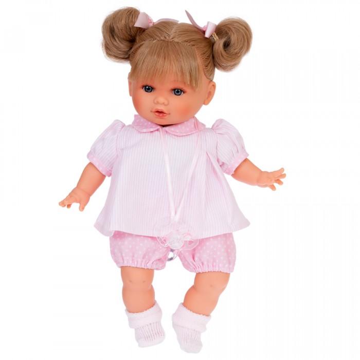 Фото - Куклы и одежда для кукол Munecas Antonio Juan Кукла Вера в розовом озвученная 30 см куклы и одежда для кукол munecas antonio juan кукла эстефания в розовом 45 см