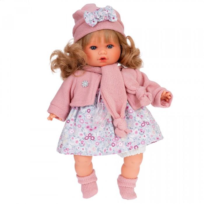 Фото - Куклы и одежда для кукол Munecas Antonio Juan Кукла Марисела в розовом озвученная 30 см куклы и одежда для кукол munecas antonio juan кукла эстефания в розовом 45 см