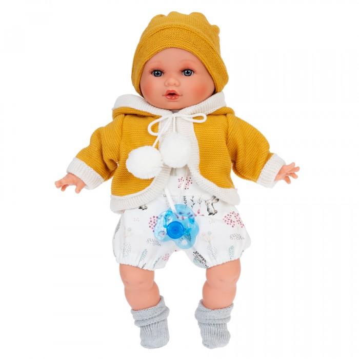 Куклы и одежда для кукол Munecas Antonio Juan Кукла Инесса в желтом озвученная 30 см