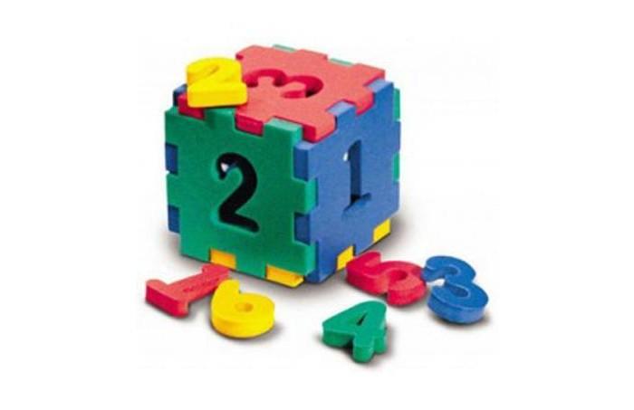 Конструкторы Флексика Кубик с цифрами