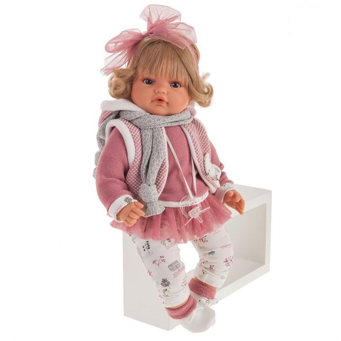 Munecas Antonio Juan  Кукла Лорена в розовом озвученная 42 см