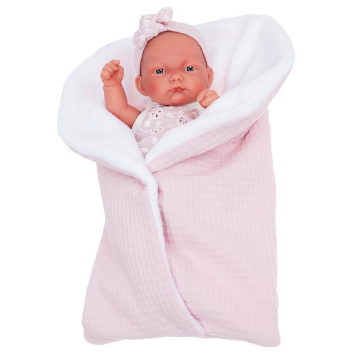 Munecas Antonio Juan  Кукла Жасмин в розовом 26 см