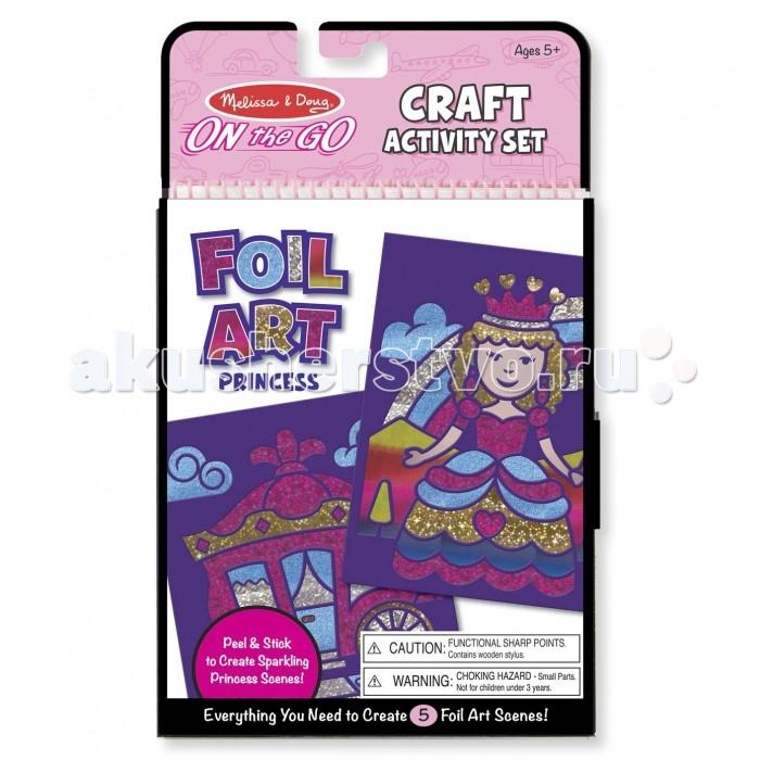 Аппликации для детей Melissa & Doug Набор для творчества Принцессы