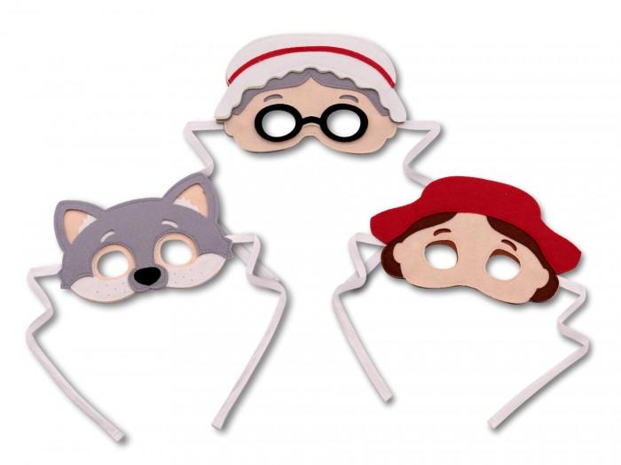 Фото - Ролевые игры Санта Лючия Набор масок Красная шапочка, Волк, Бабушка ролевые игры санта лючия набор масок дед баба курочка ряба