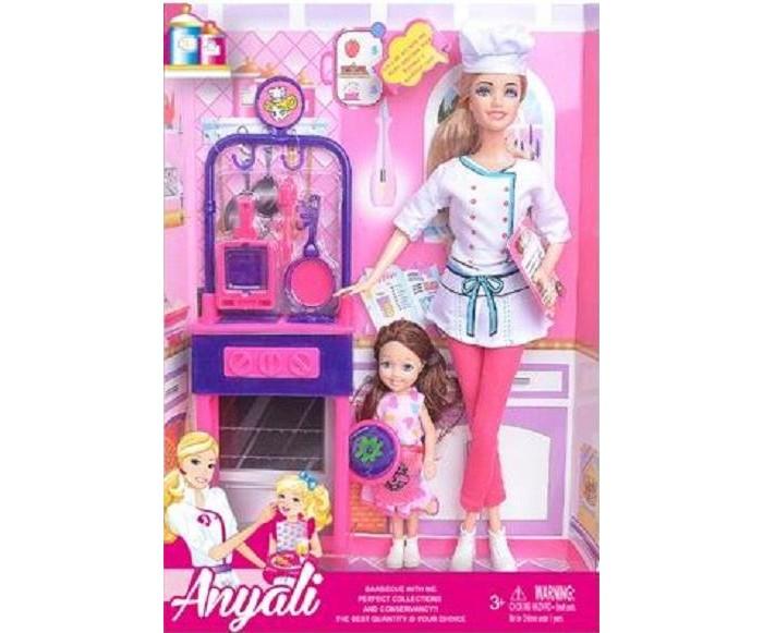 Фото - Куклы и одежда для кукол Игротрейд Куклы с кухонными аксессуарами 2 шт. куклы и одежда для кукол игротрейд пупсик спящий