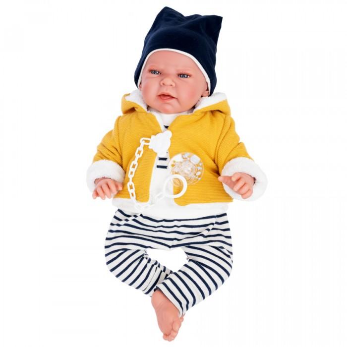 Купить Куклы и одежда для кукол, Munecas Antonio Juan Кукла Лео в желтом 40 см