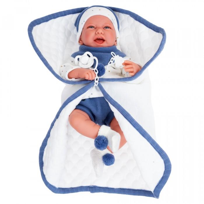 Купить Куклы и одежда для кукол, Munecas Antonio Juan Кукла Пол в синем 40 см