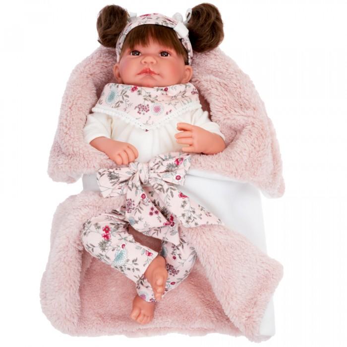 Фото - Куклы и одежда для кукол Munecas Antonio Juan Кукла Сильвия в розовом 40 см куклы и одежда для кукол munecas antonio juan кукла эстефания в розовом 45 см