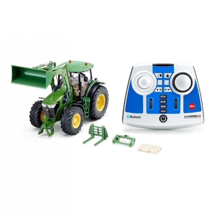 Купить Радиоуправляемые игрушки, Siku Трактор John Deere 7310R 1:32