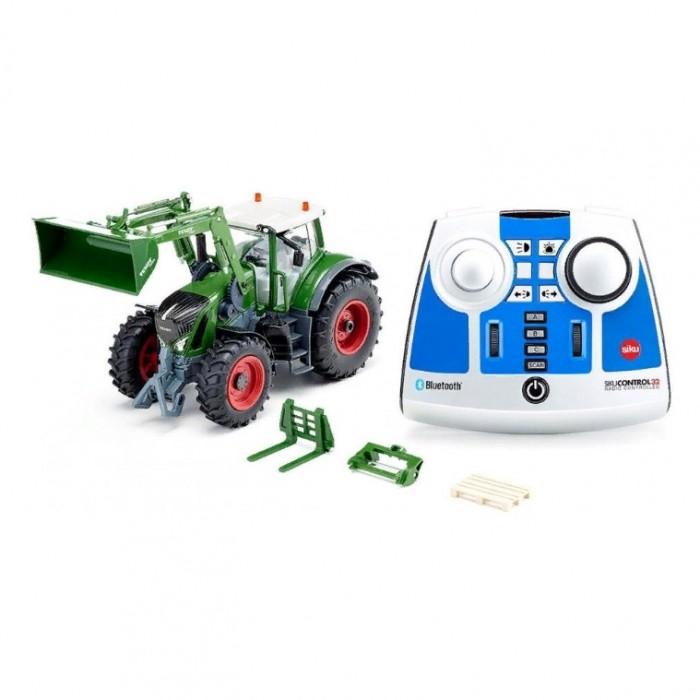 Купить Радиоуправляемые игрушки, Siku Трактор Fendt 933 Vario с фронтальным погрузчиком