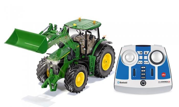 Купить Радиоуправляемые игрушки, Siku Трактор John Deere 7310R с пультом управления