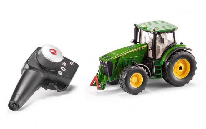 Купить Радиоуправляемые игрушки, Siku Трактор John Deere 8345R 1:32 с пультом управления