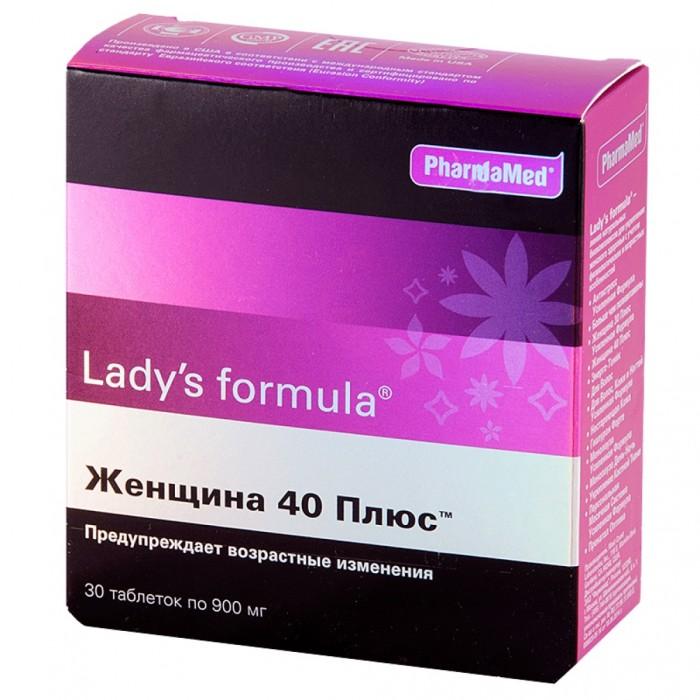 Lady\'s Formula Таблетки Женщина 40+ 30 шт.