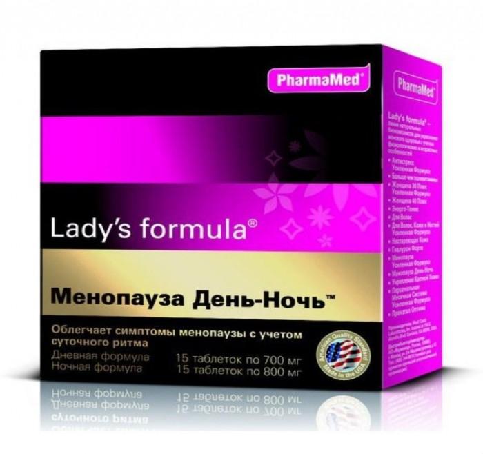 Картинка для Lady's Formula Таблетки Менопауза день-ночь 15+15 шт.