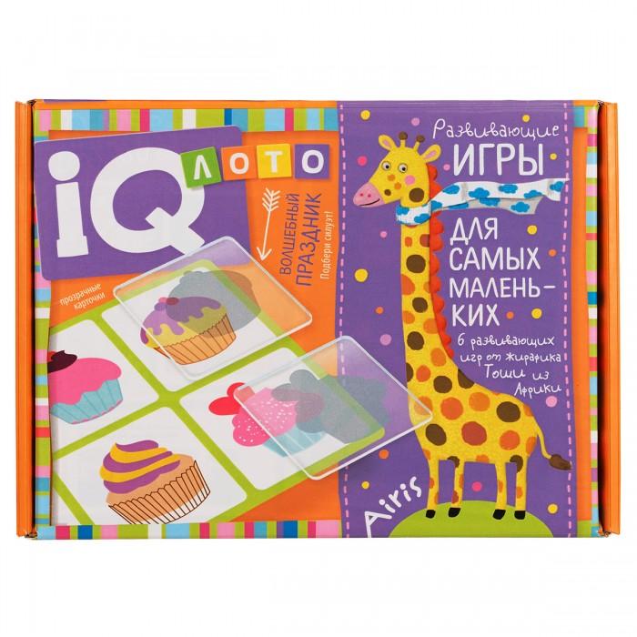 Фото - Игры для малышей Айрис-пресс Лото для малышей Волшебный праздник Подбери силуэт пластиковое лото для малышей что в корзинке найди половинку