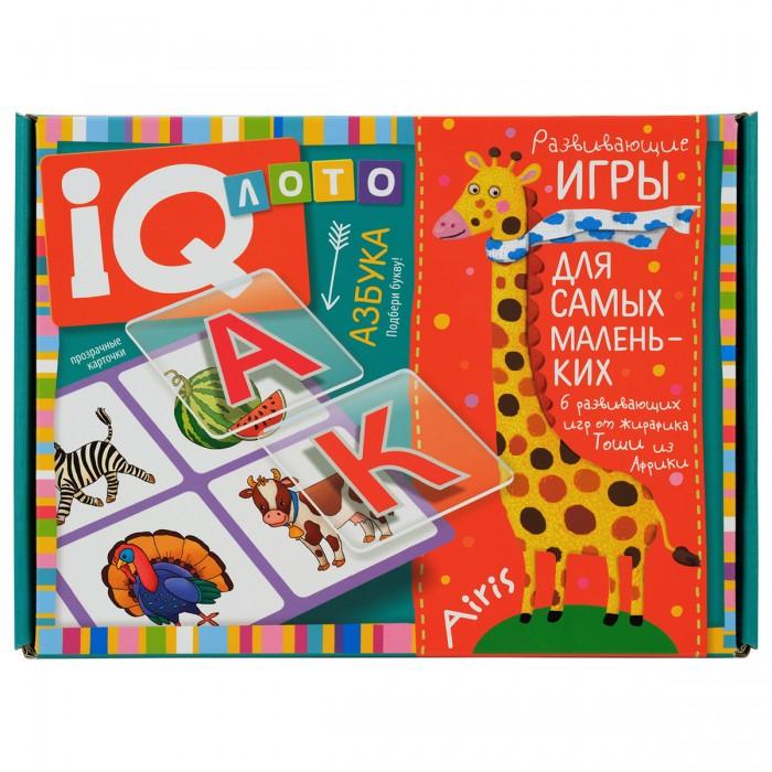 Фото - Игры для малышей Айрис-пресс Лото для малышей Азбука Подбери букву пластиковое лото для малышей что в корзинке найди половинку