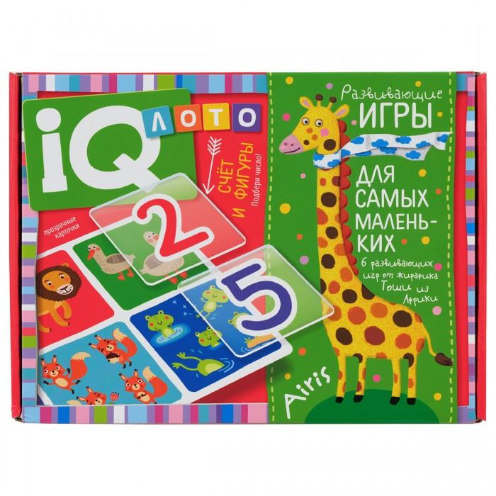 Фото - Игры для малышей Айрис-пресс Лото для малышей Счёт и фигуры Подбери число пластиковое лото для малышей что в корзинке найди половинку