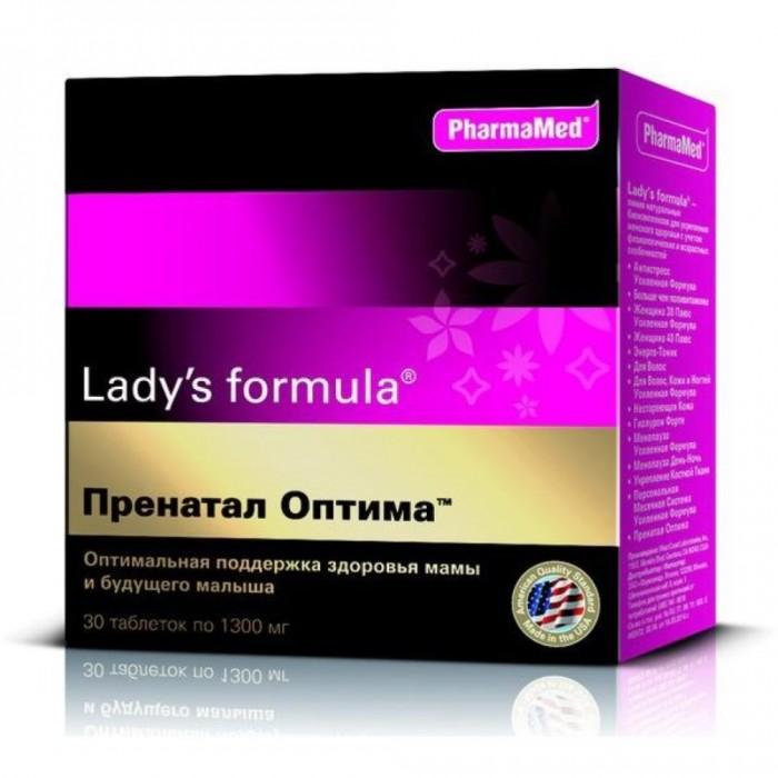 Lady\'s Formula Таблетки Пренатал Оптима 30 шт.